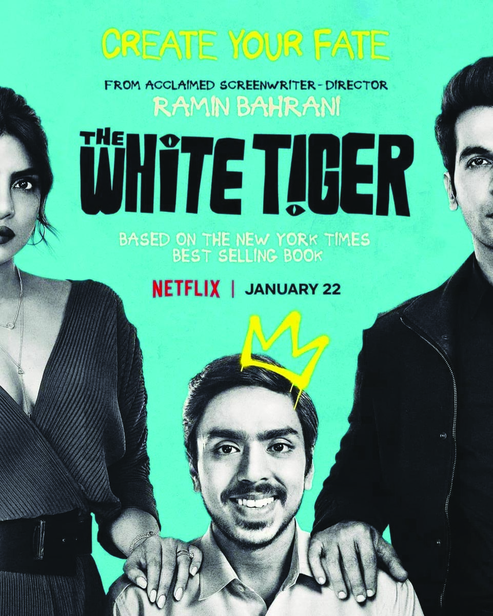 The White Tiger (2021) Bengali Dubbed (Voice Over) WebRip 720p [Full Movie] 1XBET