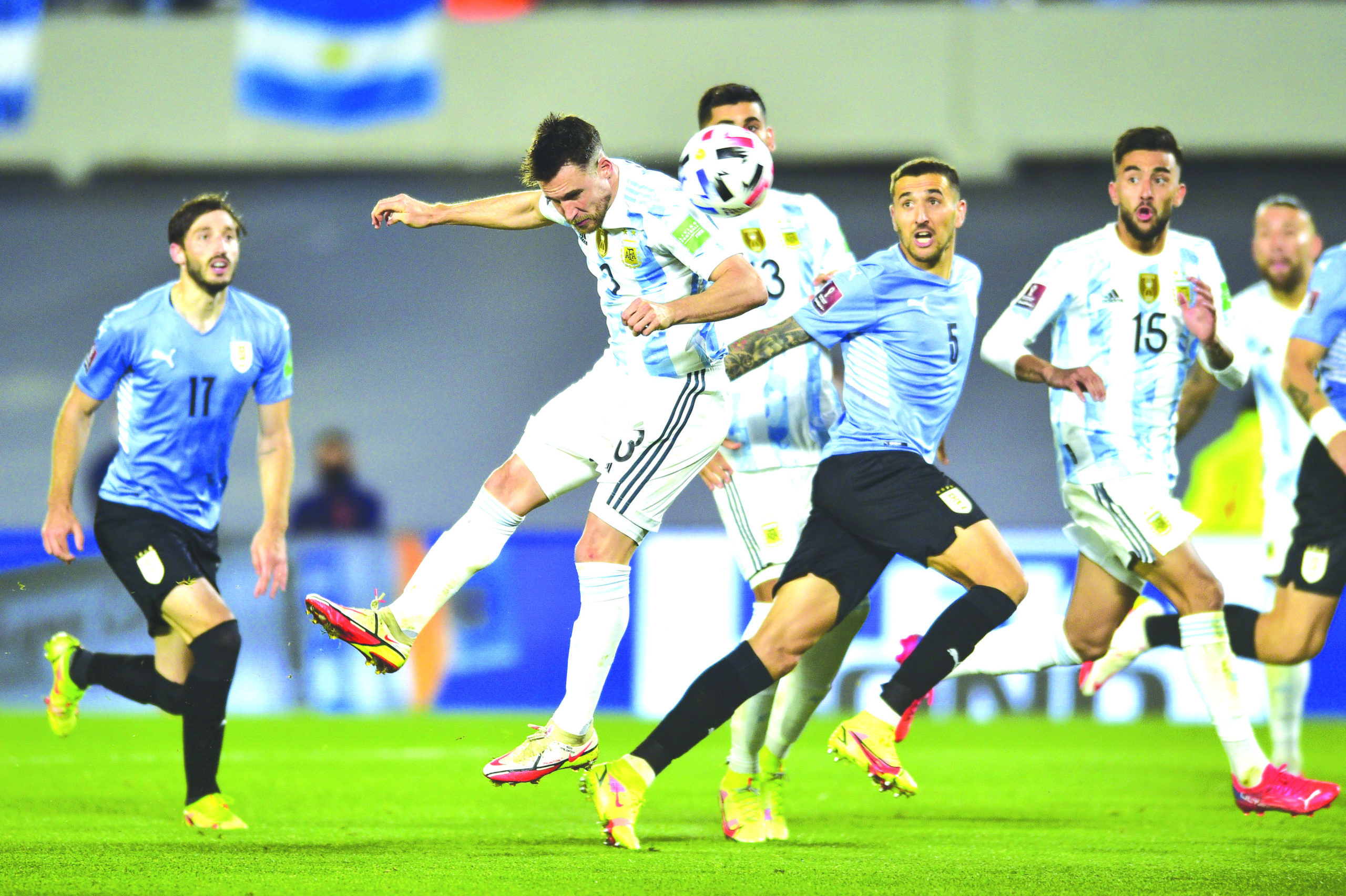 Argentina beat rivals Uruguay, Brazil held by Colombia - The Shillong Times